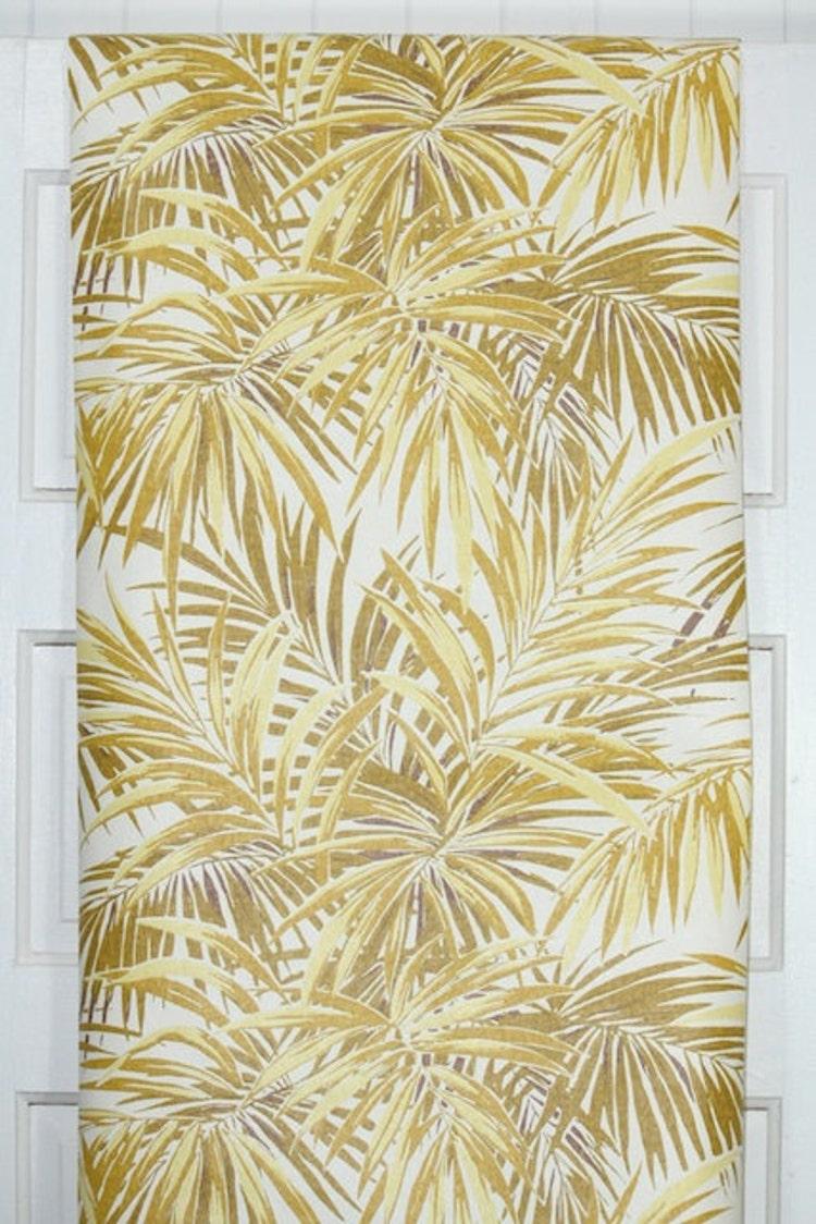 feuille de papier peint vintage grande jungle par retrowallpaper. Black Bedroom Furniture Sets. Home Design Ideas
