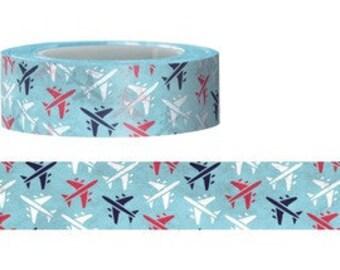 Airplane Washi Tape (15M)