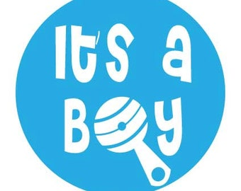 """35 """"Its' a BOY"""" Stickers - Celebrate your new baby with these cute new stickers"""