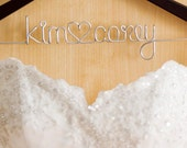 Rush order - Wedding hanger for Katie F.