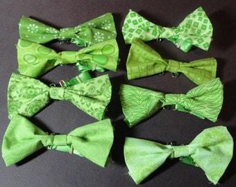 OOAK Fabric Scrap Bowties