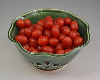 Berry Bowl, pottery berry bowl, ceramic berry bowl, handmade pottery