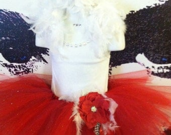 Gorgeous Red Diva tutu