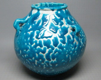 PV france pottery vase , maybe somehow related to lachenal ?