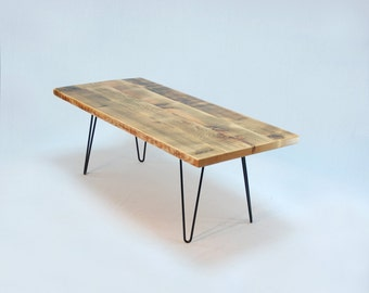 Kingsley Minimalist Hairpin Coffee Table