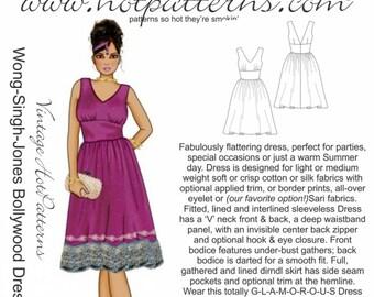 HP 1156 Vintage WSJ Bollywood Dress