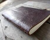 Leather Journal Longstitch Handmade Notebook