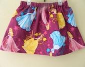 Disney Princess Skirt - Cinderella, Belle and Sleeping Beauty