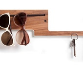 Elephant - Walnut with Colored Edge. All in one organizer.
