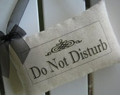 Business Sign, Door Pillow, Door Sign, Please Knock, Quiet, Shhh, Shop Accessories, Business, Cafe, Gift Shop, Retail