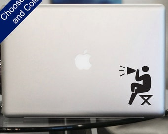 Director Icon Decal -for Laptop, Car
