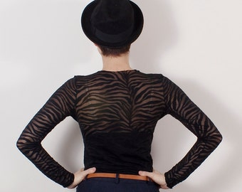 Black lace shirt, Black lace blouse, black Basic lace, black blouse, black top, lace top, made to order: S-XL