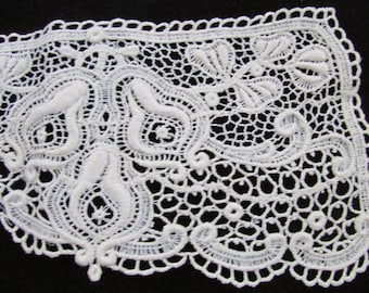 Vintage Ecru Lace Collar, Vintage Lace, Vintage Lace Collar,