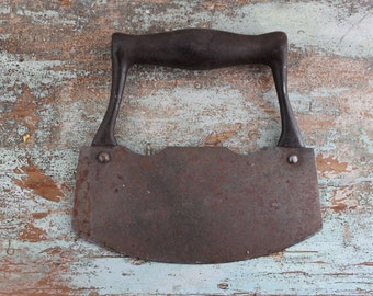 Vintage hand forged chopper