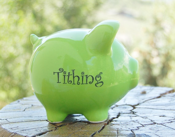 tithing piggy bank