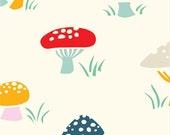 Everyday Party - Mushrooms - Organic Cotton Print from Birch Organic Fabric