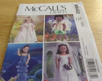 McCall's pattern M6452 for 18 inch dolls