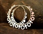 Venus (Large) Silver Earrings