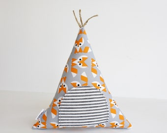 Fox Teepee Tooth Fairy Pillow, Kids Toy Pillow, Boys, Girls, Children, Toy,  Stuffed Toy, Keepsake, Tipi
