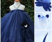 Princess luna Dress , Designer Halloween Costume- Luna Costume,  My little pony Dress