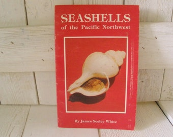 Vintage book Seashells Pacific Northwest  field guide 1976- free shipping US