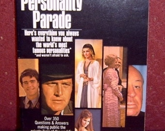 Book Walter Scott's Personality Parade 1971
