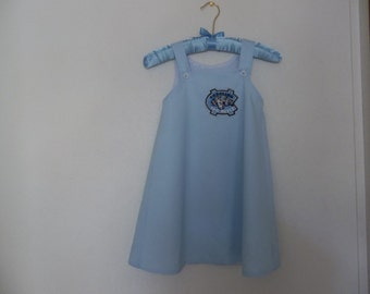 GIRLS UNC DRESS