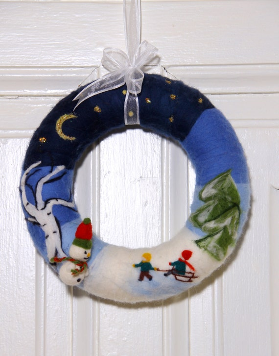 Wool Christmas Decorations