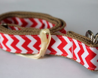Girls Preppy Belt Red Chevron Khaki Belt Girls Chevron Belt Girls School Uniform Belt Khaki Girls Belt Little Girls Belt Khaki D Ring Belt