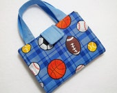 Sports Balls Print Crayon Wallet. Free USPS First Class Shipping/ Ready to ship.