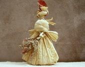 Art Doll OOAK Corn Husk Folk Art Doll  'Angela'