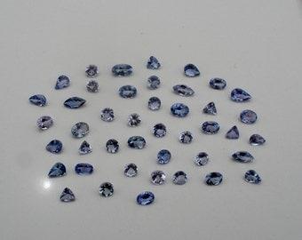 Tanzanite gem mix loose parcel over 5 carats