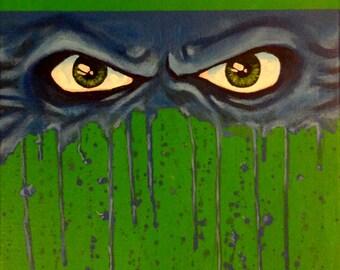 "Ninja Turtles - LEONARDO - Art Print Reproduction 10"" x 12"" - signed by Artist / TMNT"