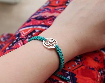 Om Bracelet - Hemp Bracelet - Hemp Jewelry