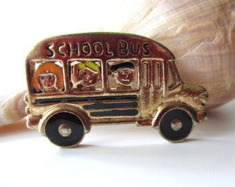 Cute School Bus Pin