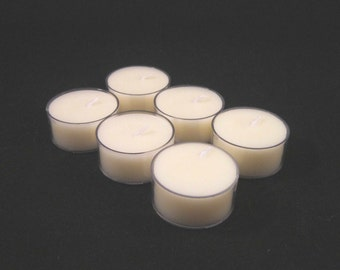 WHITE TEA And GINGER tea lights
