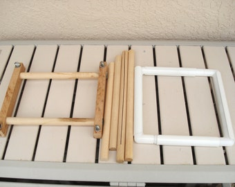 NEEDLEWORK FRAME Wooden Or Plastic.