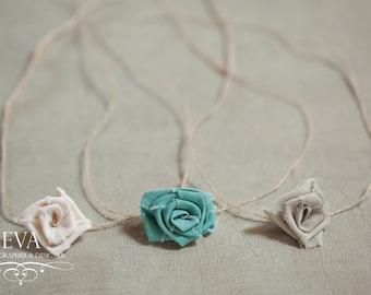 Headband for newborn photography - set of 3