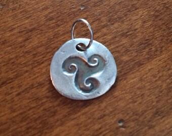 PMC Celtic Triskelion Pendant