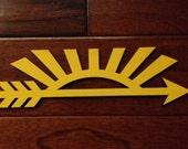 Cub Scout Arrow of Light Wood Silhouette