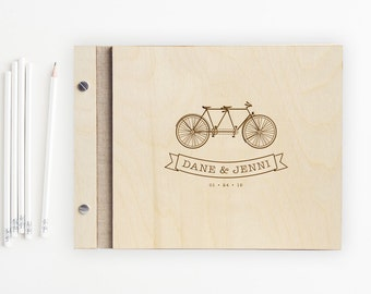 Biking for Two Guest Book