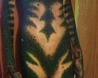 Custom Airbrushed Zentai Suit