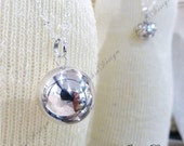 Large 20mm Plain Harmony Ball (aka Mexican Bola) Pendant (Necklace)- Maternity Necklace ZZ71