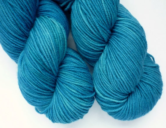 ... Dyed Superwash Merino Sport Weight Yarn in Neptune Colorway on Etsy