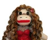 Melusina the Mermaid Sock Monkey Kid