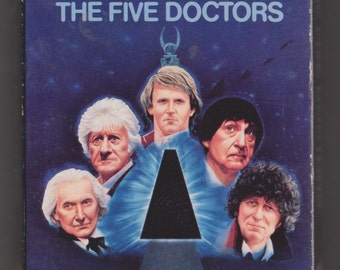 Doctor Who The Five Doctors VHS cassette, 1989