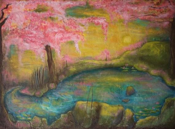 Japanese Sunrise 11x16 Print