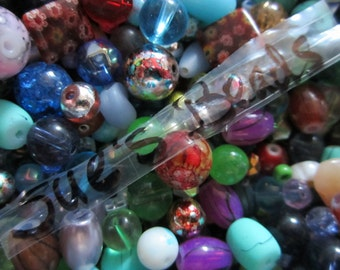 100 Nice Glass Bead Mix, Assortment, Good Quality
