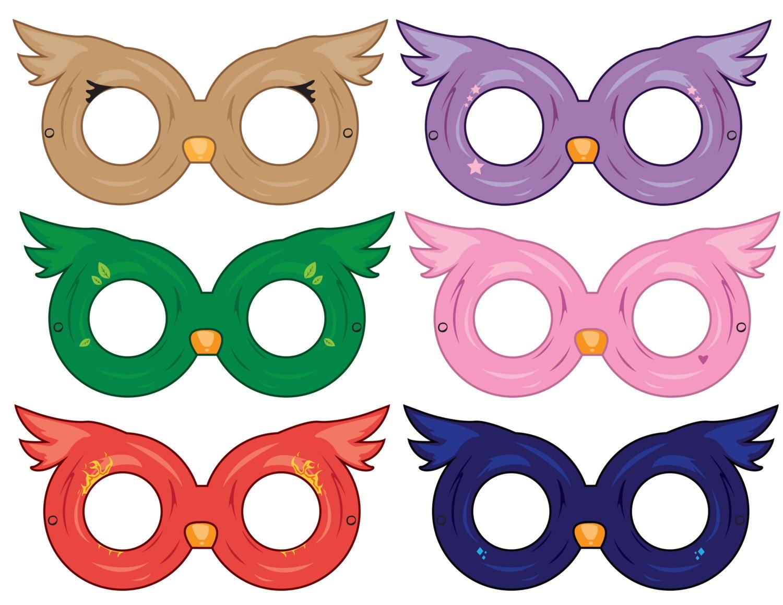 owl masks paper masks printable mask party ideas party