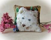 Dollhouse Miniature Decorator pillow - 1:12 scale